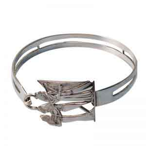 Ancient Egyptian Musician Bangle Bracelet