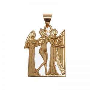 Ancient Egyptian Musicians Pendant