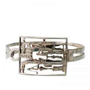 Ancient Pharaohs Silver Bracelet