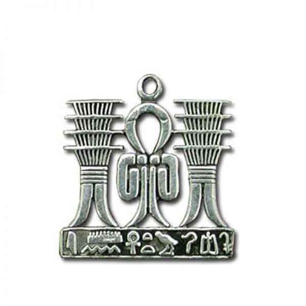 Knot of Isis and Djed Pillars Pendant