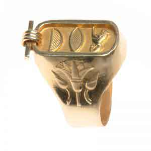Lotus Ring 18K Gold