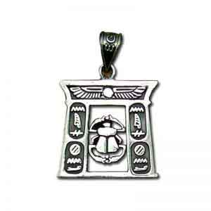 Scarab Temple Sterling silver