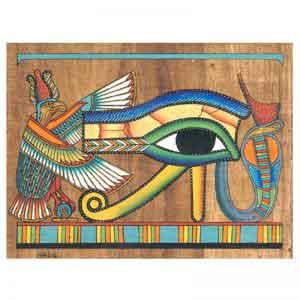 Eye of Horus (Wedjat eye) Papyrus