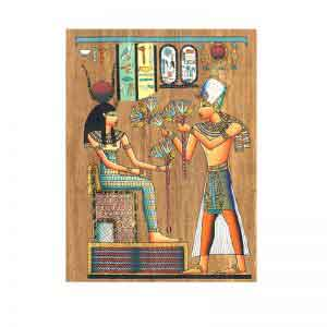 Flowers to the Goddess Hathor