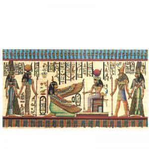 Isis, Ma'at, Horus and Hathor