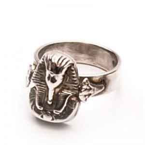 King Tut Silver ring jewelry