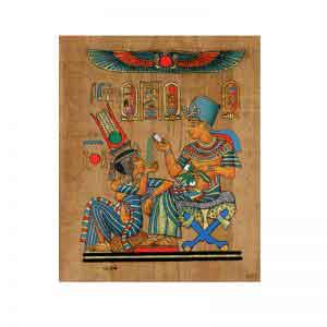 Life Pleasures Papyrus painting