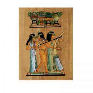 The Famous Egyptian Musicians Papyrus