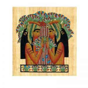 Vulture Goddesses Nekhbet Papyrus
