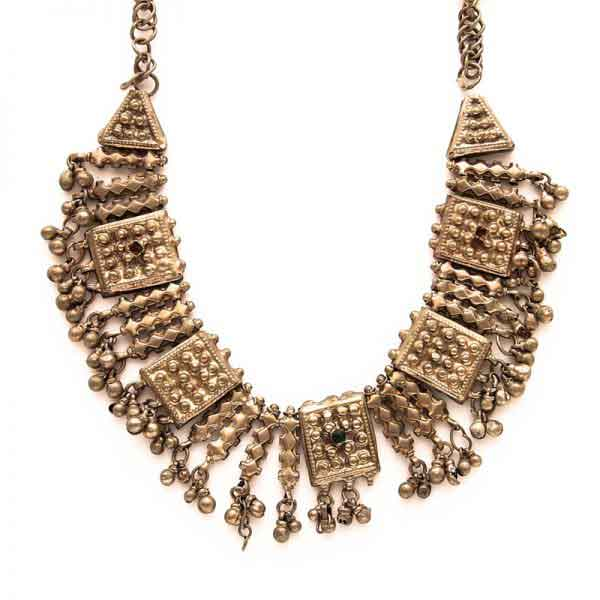 A vintage statement Bedouin necklace