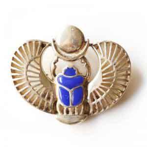 Lapis stone Royal Scarab
