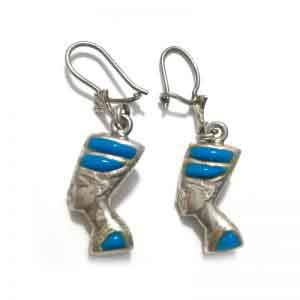 Nefertiti Sterling silver Earring