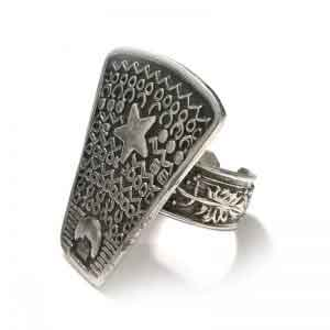 Old Turkish (ottoman) design silver ring
