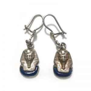 Tutankhamun sterling silver Earring