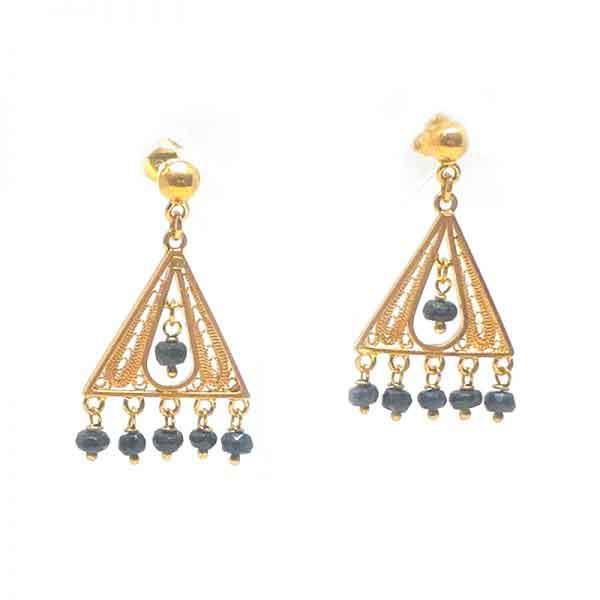 Egyptian Gypsy 18K gold Earrings