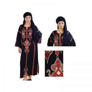 Handmade Egyptian cotton Embroidery Galabia