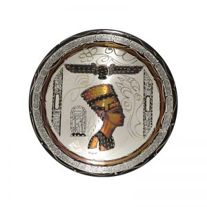 Egyptian Handcrafted Nefertiti copper plate