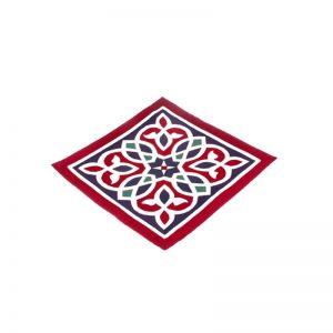Egyptian traditional design handmade cotton cushion