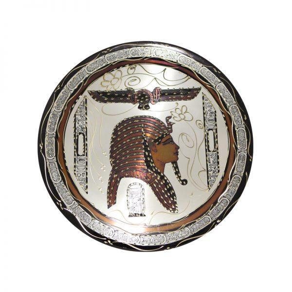Mask of Tutankhamun Egyptian copper plate