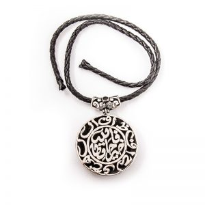 Arabic calligraphy sterling silver pendant