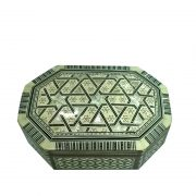 Mother Of Pearl Octagon Jewelry Box
