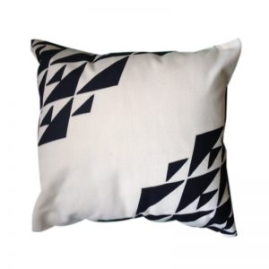 Contemporary Egyptian Khayameya ( Appliqué) Throw Pillow Cover inspired by Nubian Patterns