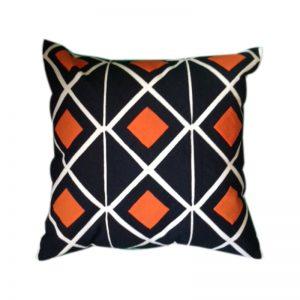 Egyptian Khayameya ( Appliqué) Throw Pillow Cover