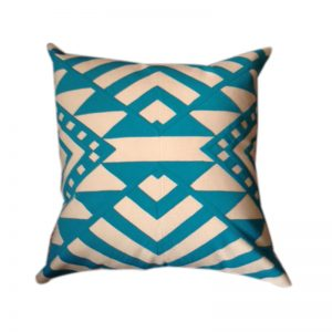Egyptian Khayameya ( Appliqué) Throw Pillow Cover inspired by traditional Geometric Nubian patterns