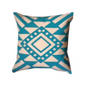 Egyptian Khayameya Throw Pillow Cover inspired by traditional Geometric Nubian Patterns