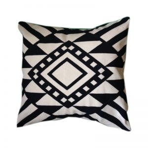 Nubian Egyptian design trendy cushion cover handmade by skilled artisans