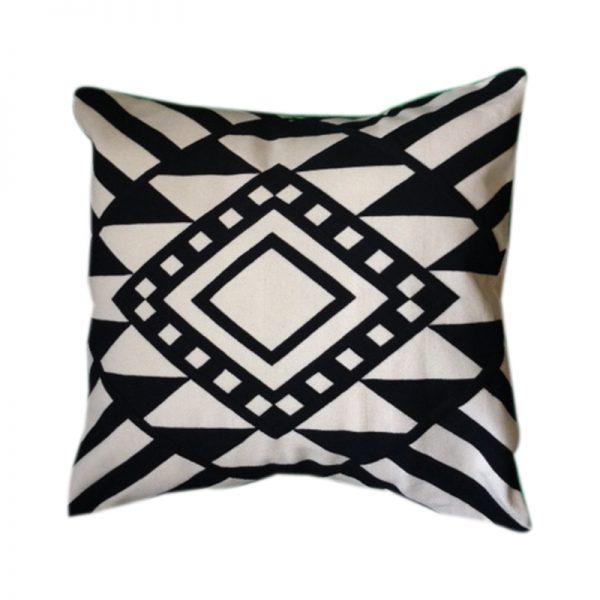 Nubian Egyptian design trendy cushion cover handmade by skilled artisans